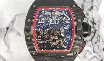 Richard Mille RM 011 Felipe Massa 'Black Night'