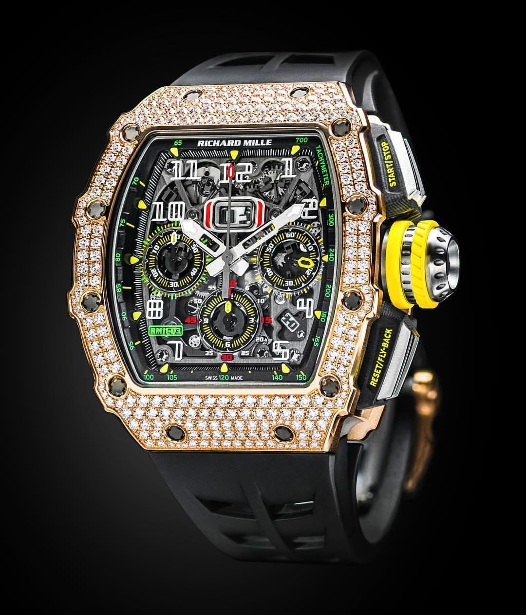 All Watches : Richard Mille [NEW][RARE] RM 11-03 Rose Gold