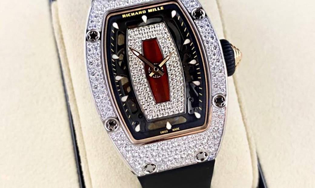 Richard Mille [NEW] RM 07-01 White Gold Aleatoire Setting Ladies Watch