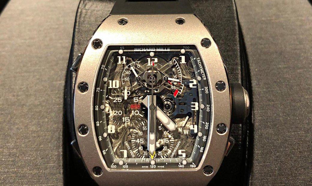 Richard Mille [NEW] RM 004 All Grey Edition Split Second Chronograph