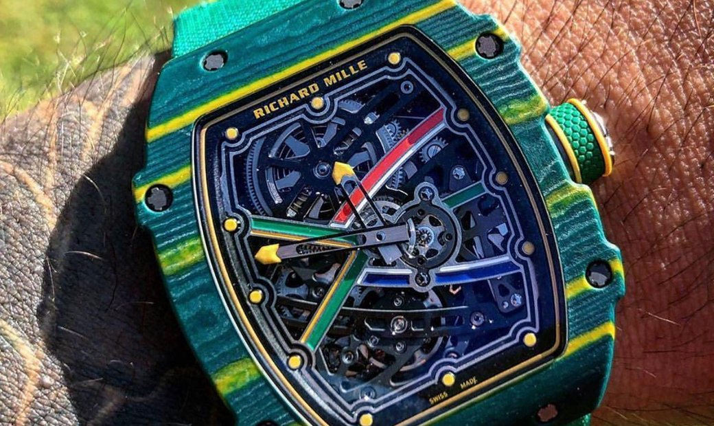 Richard Mille [2020 NEW] RM 67-02 Sprint Wayde Van Niekerk