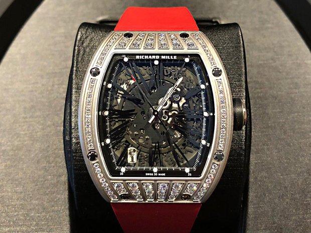 Richard Mille [NEW] RM 023 Titanium Med Set Diamonds Mens... (10833962)