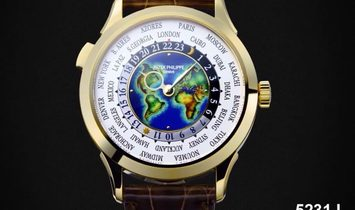 Patek Philippe [2019 NEW] Complications World Time Yellow Gold 5131J