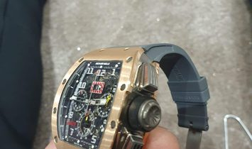 Richard Mille [2012 USED] RM 011 Rose Gold/Titanium Automatic Watch
