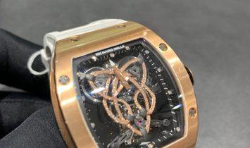 "Richard Mille RM 019 ""Celtic Knot"" 18 K Rose Gold"