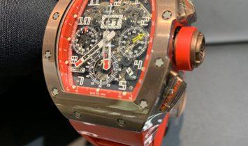 Richard Mille RM 011 FM Titanium and Bronze ADLC Coated