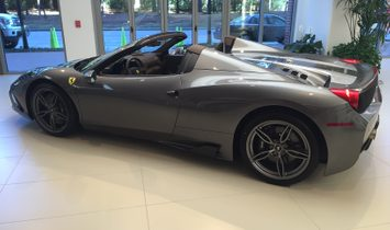 2015 Ferrari 458 Speciale Aperta....1 of a Kind Build.......Only 80 Miles