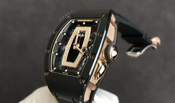 Richard Mille RM 037 Black ATZ and Rose Gold