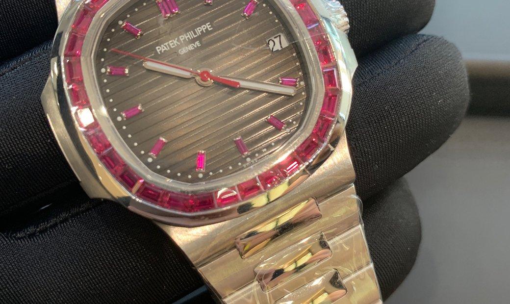 Patek Philippe Nautilus 5711/112P -001 Platinum and Ruby