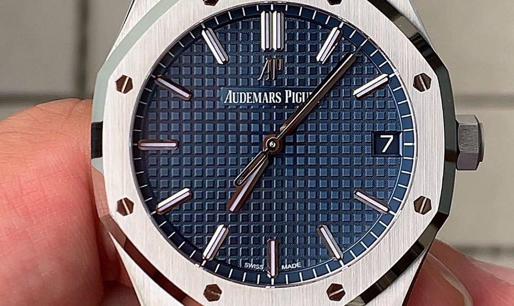 AUDEMARS PIGUET [NEW] Royal Oak Blue Dial Automatic 15500ST.OO.1220ST.01