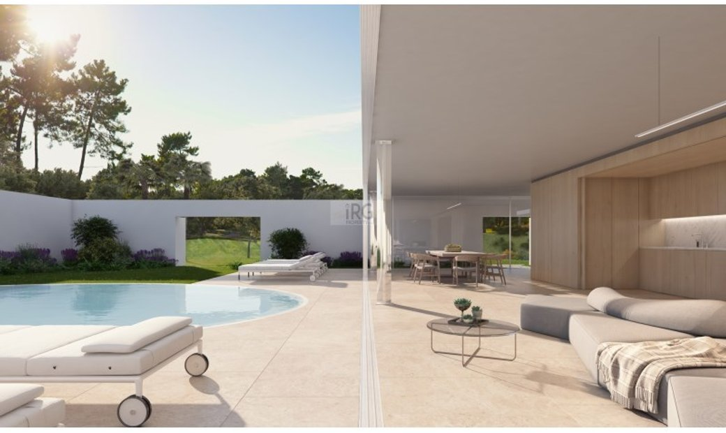 Plot with project for sale in Quinta do Lago