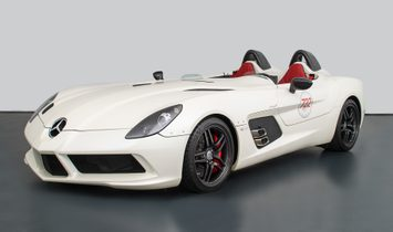2009 Mercedes-Benz SLR McLaren Stirling Moss rwd