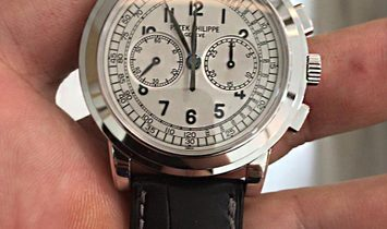 Patek Philippe [NEW] Complications Chronograph White Gold 5070G