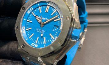 Audemars Piguet Royal Oak Offshore Diver 15710ST.OO.A032CA.01 Tropical Turquoise