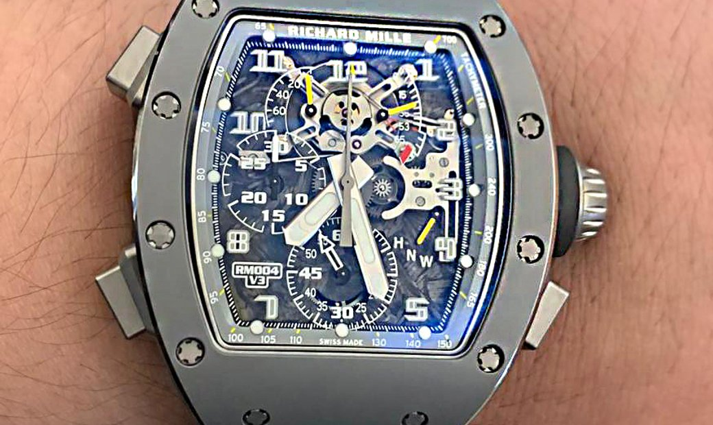 Richard Mille [NEW][LIMITED 15 PIECE] RM 004-V3 Split-Seconds Chronograph Watch