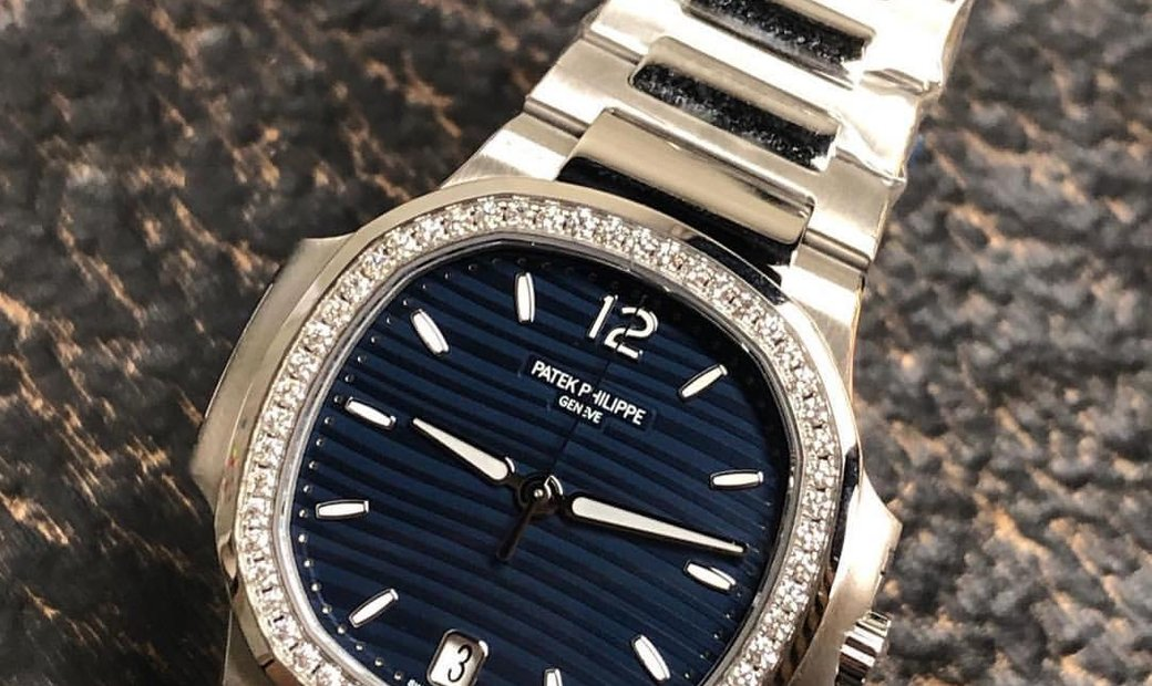 Patek Philippe [NEW] Nautilus Ladies Steel Blue Dial 7118/1200A