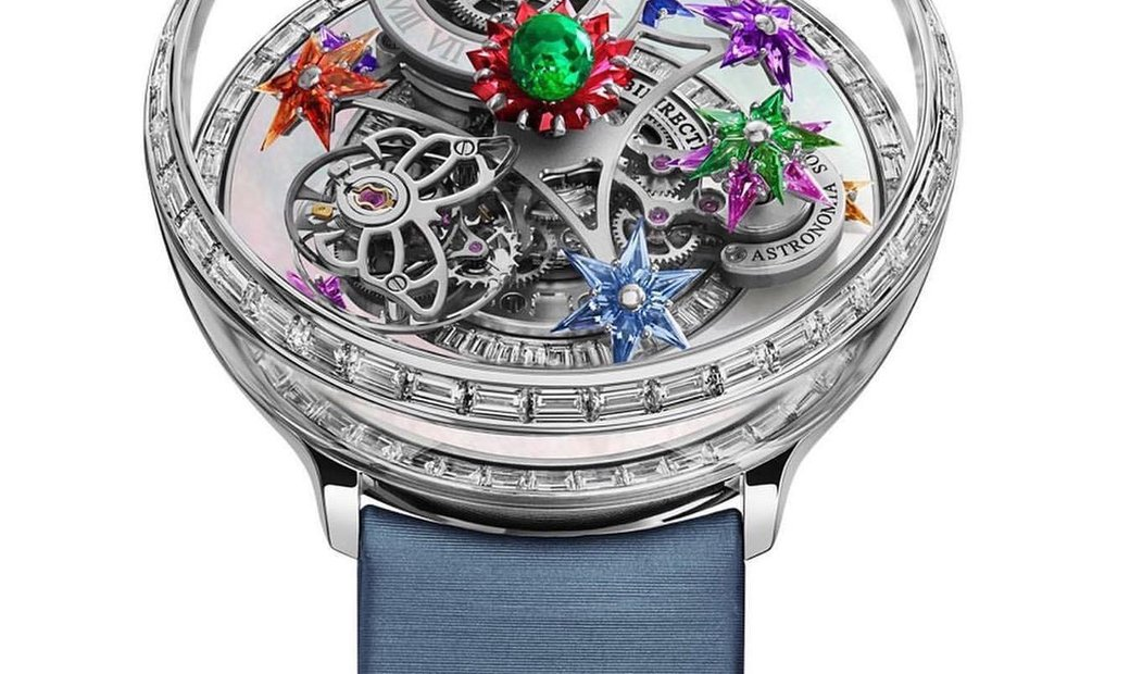 Jacob & Co. [LIMITED 12 PIECE] Astronomia Fleurs de Jardin AT100.40.AC.AB.CBALA (Retail:US$460,000)