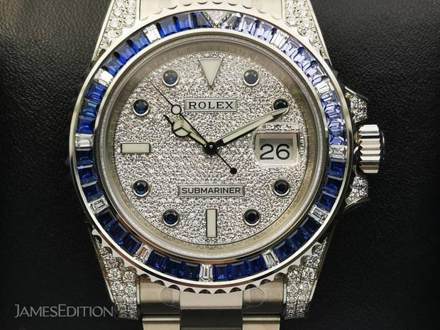 Rolex [2019 NEW] Submariner Date 116659SABR PAVE Diamond ... (10848693)