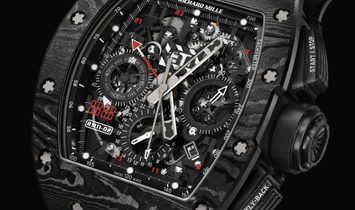 Richard Mille [2018 USED][LIMITED 88 PIECE] Debuts Limited-Edition RM 11-02 Jet Black