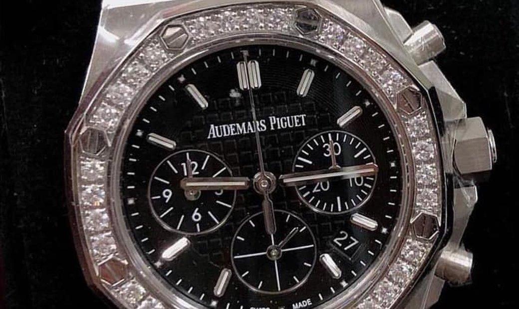 Audemars Piguet [NEW] Royal Oak Offshore Chronograph 37mm Ladies Black Dial 26231st.zz.d002ca.01