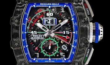 Richard Mille [NEW] RM 11-04 Automatic Flyback Chronograph Roberto Mancini