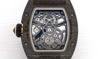 Richard Mille RM 17-01 Black NTPT Tourbillon Watch