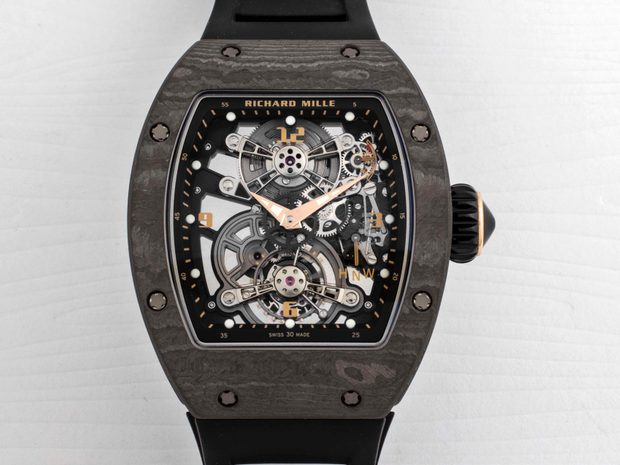 Richard Mille RM 17-01 Black NTPT Tourbillon Watch (10652456)