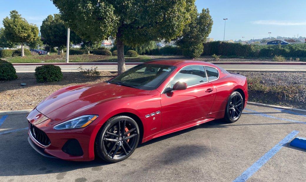 2018 Maserati GRAN TURISMO rwd