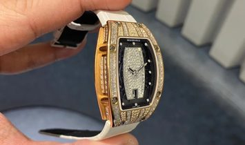 Richard Mille [NEW] RM 07-01 Rose Gold Baguette Ladies Watch