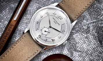 Patek Philippe [NEW] 5196P Calatrava Platinum Mens Watch