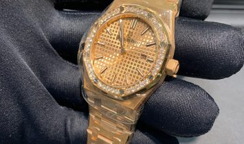 Audemars Piguet Royal Oak Quartz 67651OR.ZZ.1261OR.03 18 ct Rose Gold