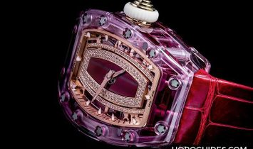 Richard Mille [NEW] RM 07-02 Pink Sapphire Automatic Ladies Watch