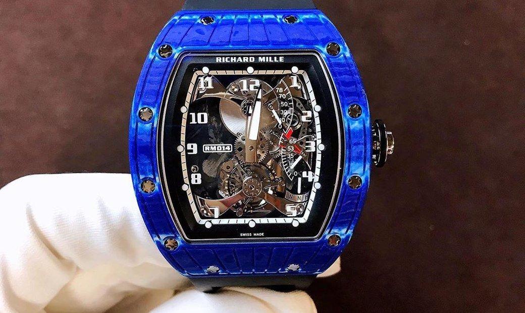 RICHARD MILLE [NEW] RM 014 Blue Tourbillon Perini Navi