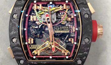 Richard Mille RM 50-01 Tourbillon Chronograph G-SENSOR Lotus F1 Team – Romain Grosjean