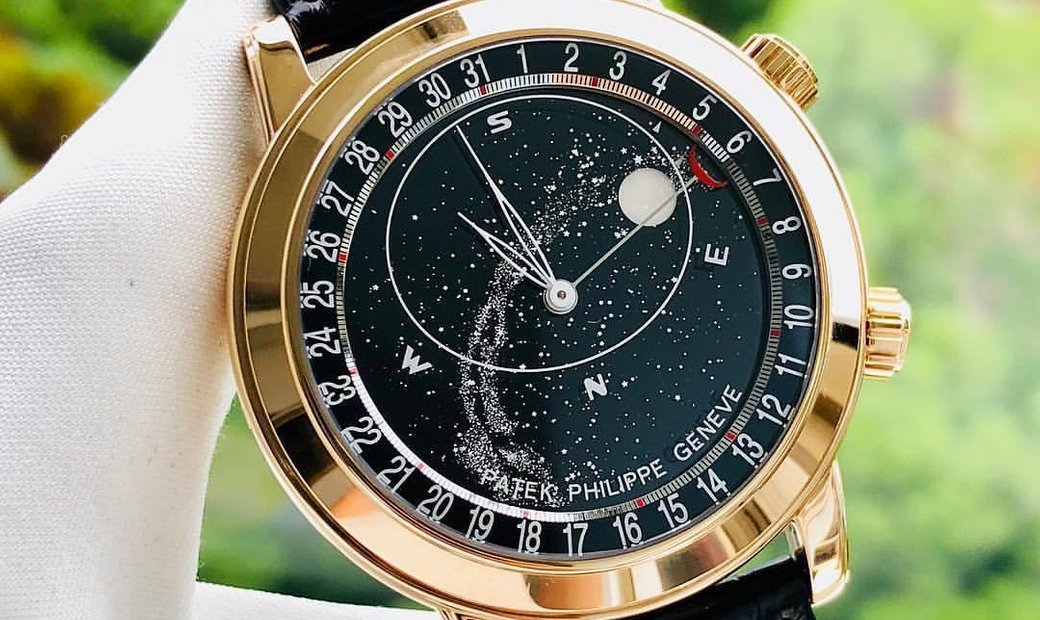 Patek Philippe [2019 NEW] Celestial Rose Gold Mens Watch 6102R