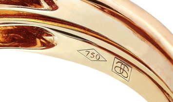 Antonellis Antonellis 18K Rose Gold 1.02 ct Diamond and Gemstone Ring