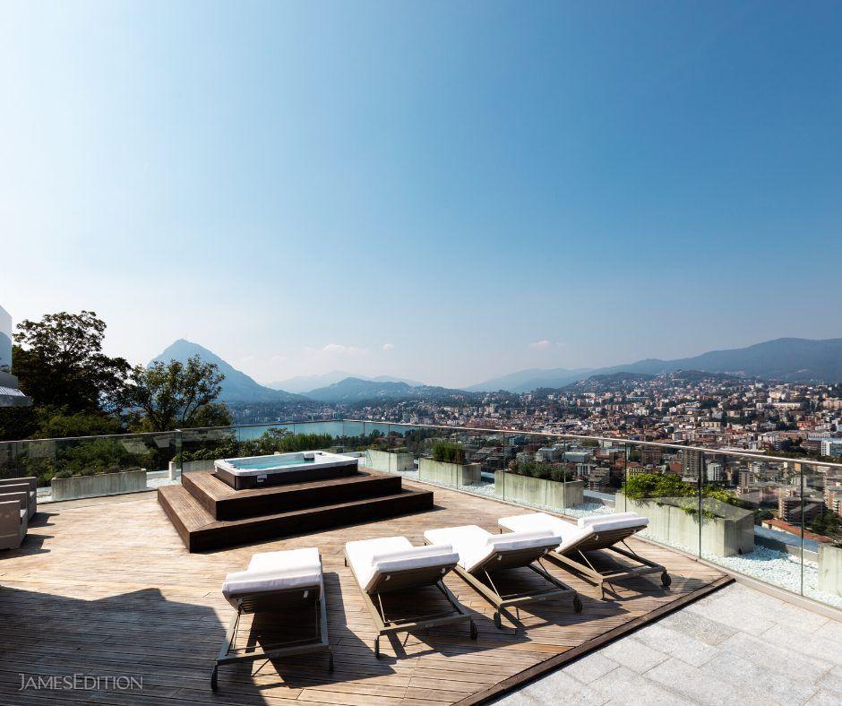Penthouse in Lugano, Ticino, Switzerland 1