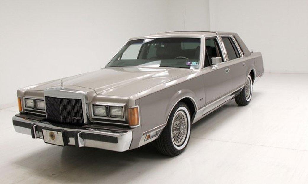 1989 Lincoln Town Car Cartier