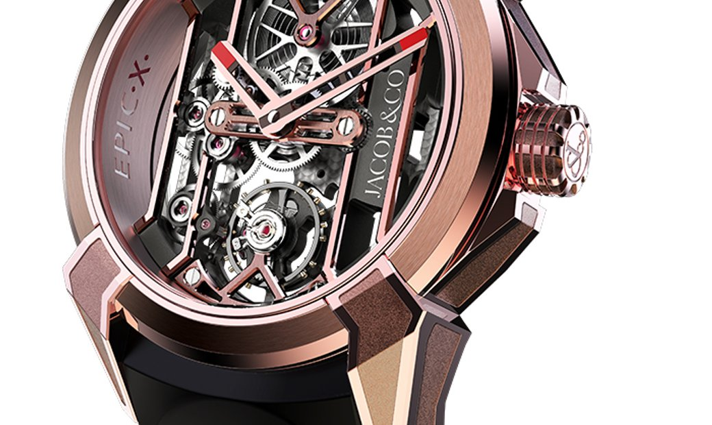 Jacob & Co. 捷克豹 [NEW] EPIC X Rose Gold EX100.43.PS.BW.A (Retail:HK$372,300)