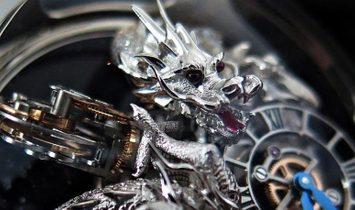 Jacob & Co. 捷克豹 Astronomia Dragon Pave Tourbillon AT102.30.DR.UA.A (Retail:HK$10,000,000)
