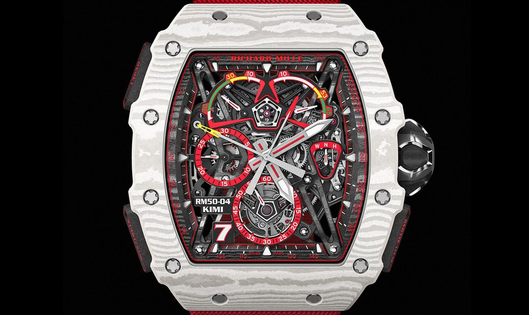 Richard Mille [NEW] RM 50-04 Kimi Räikkönen Tourbillon Split-Seconds Chronograph