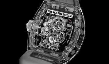 Richard Mille [LIMITED 5 PIECE] RM 56-01 Sapphire Crystal Tourbillon Watch