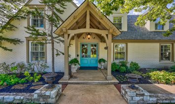 House in Nichols Hills, Oklahoma, United States of America