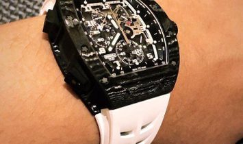 Richard Mille [NEW] RM 004-V3 White Gold Split-Seconds Chronograph