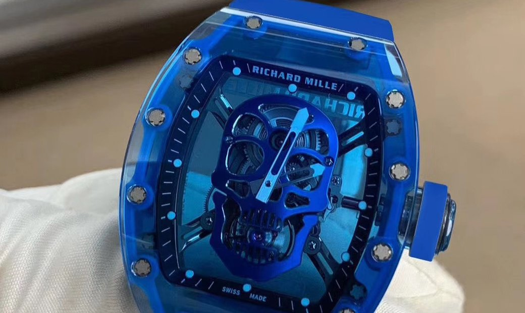 Richard Mille RM 52-01 Blue Sapphire Skull Tourbillon