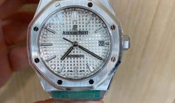 AUDEMARS PIGUET [NEW] Royal Oak 15450ST White Dial Ladies Watch