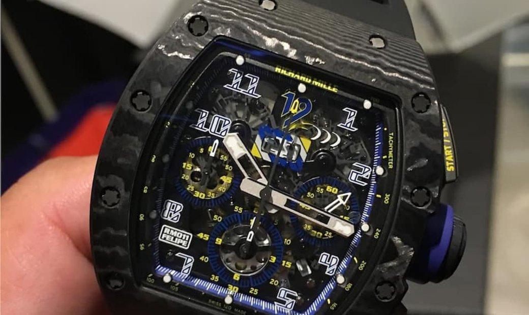 Richard Mille [LIMITED 100 PIECE] RM 011 10th Anniversary Felipe Massa