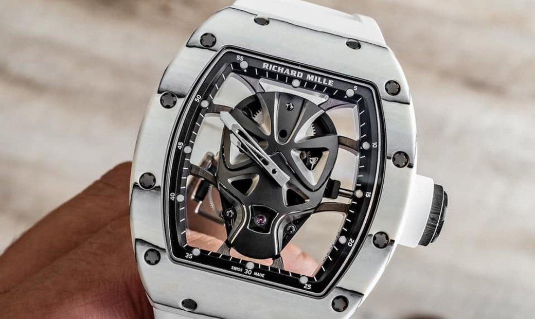 Richard Mille [NEW][LIMITED 18 PIECE] RM 52-06 Mask Tourbillon Watch
