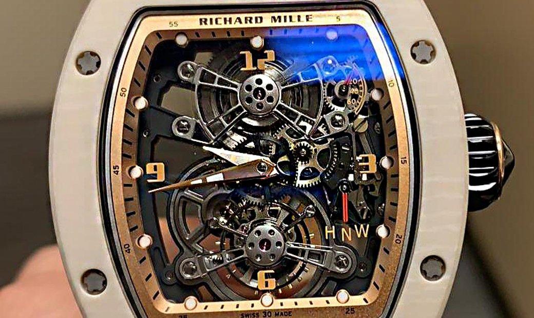 Richard Mille [NEW][LIMITED 10 PIECE] RM 17-01 White NTPT Tourbillon Watch