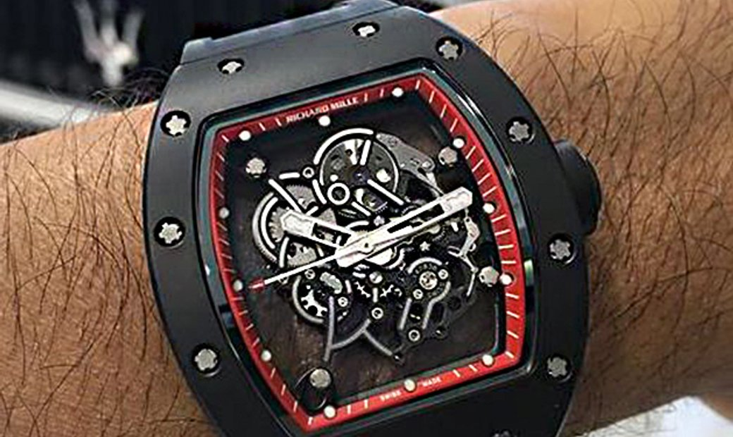 Richard Mille [LIMITED 30 PIECE] Bubba Watson RM 055 Red Drive Americas Limited